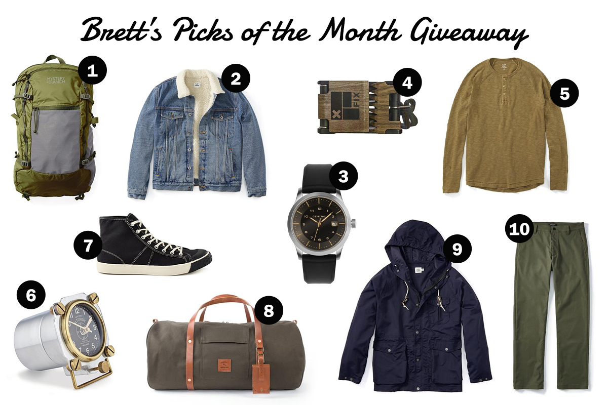 The Monthly Huckberry Giveaway: April 2019