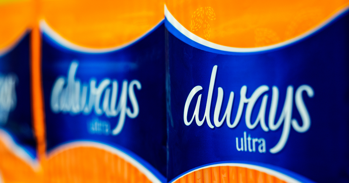 Always Removes Female Venus Symbol from Packaging to Include Transgender and Non-Binary Customers