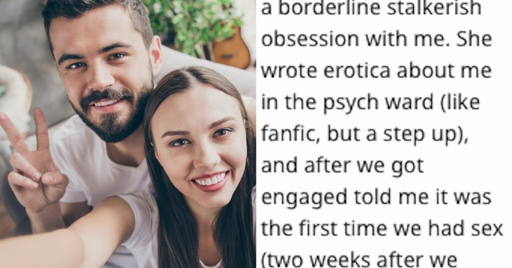People are sharing stories of the unromantic ways they met their partners.